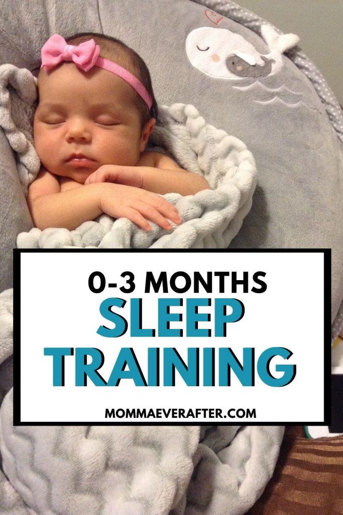 sleep training 0-3 months
