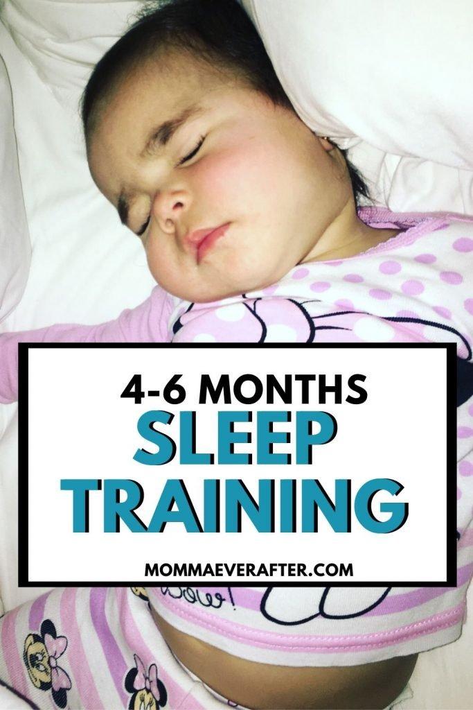 sleep training 4-6 months