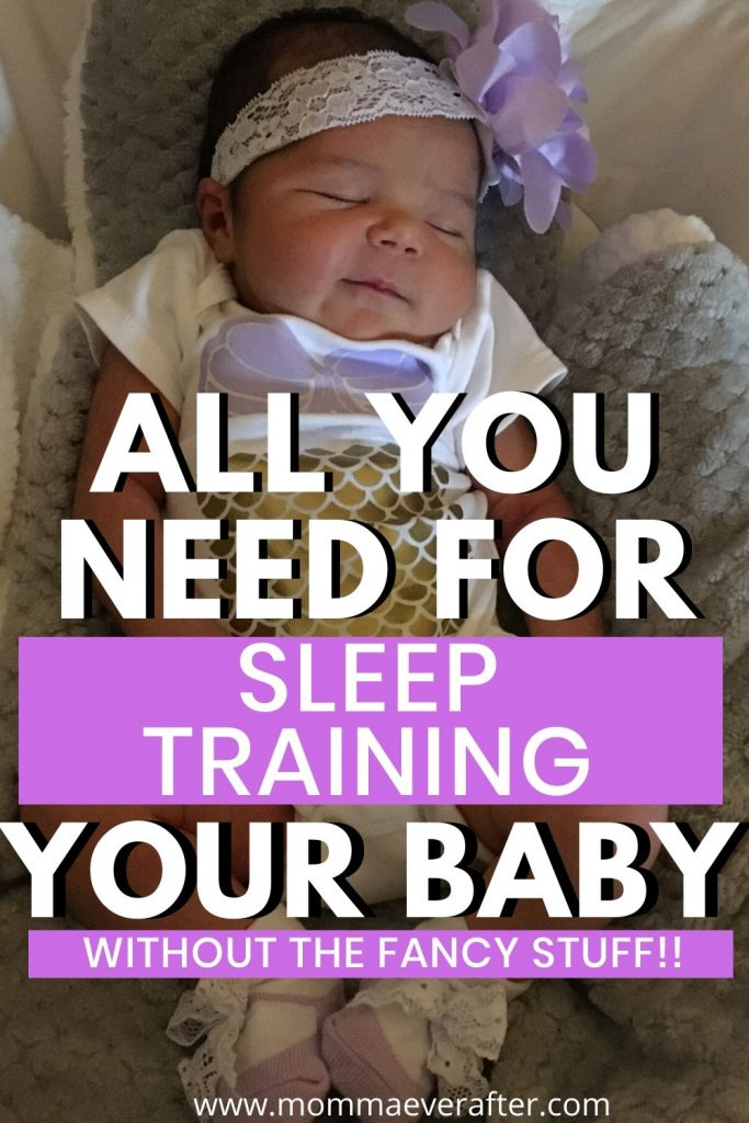 sleep training your baby