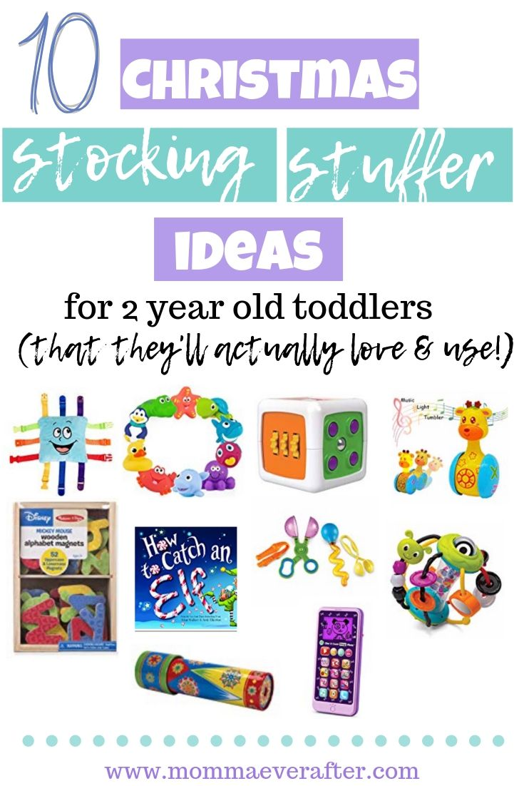 10 Stocking Stuffer Ideas for 2 year old toddlers