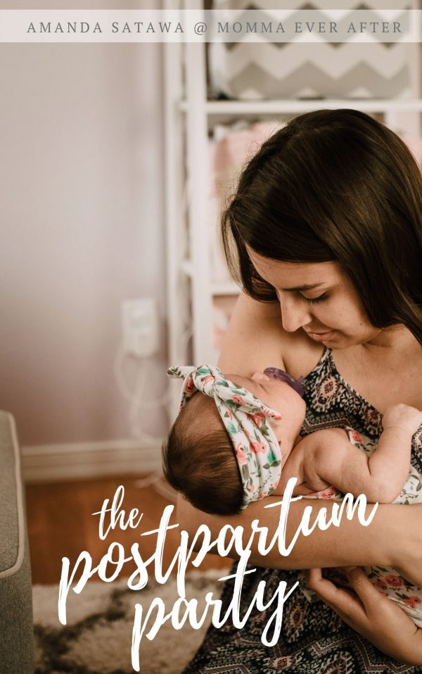 postpartum recovery - healing after birth