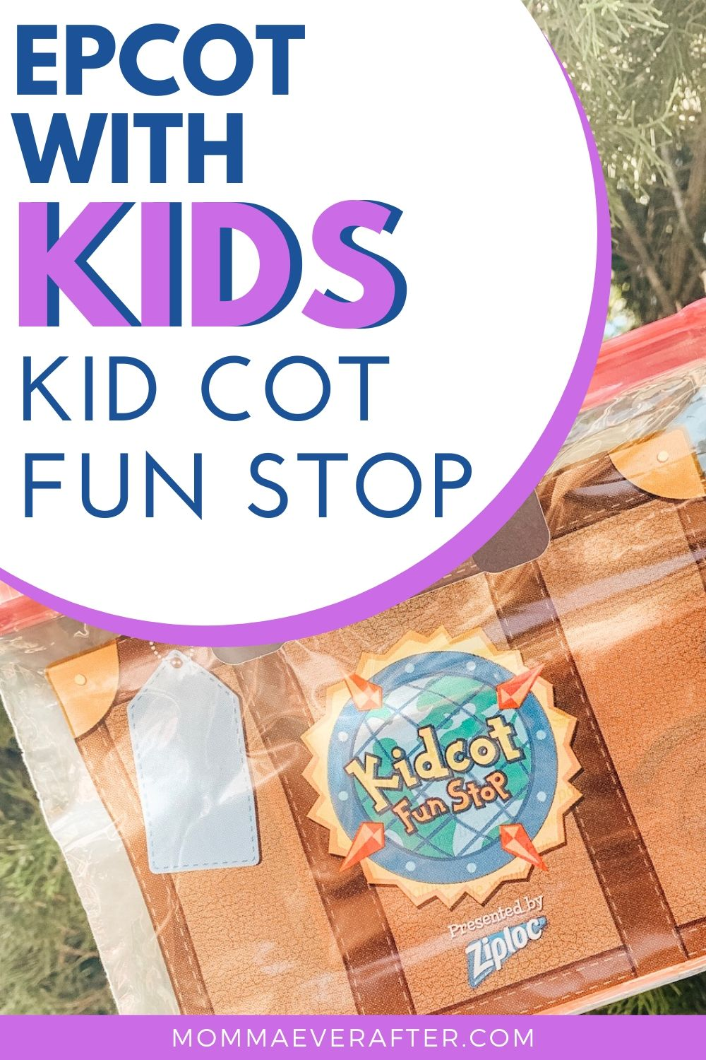 Kid Cot Fun Stop at Epcot