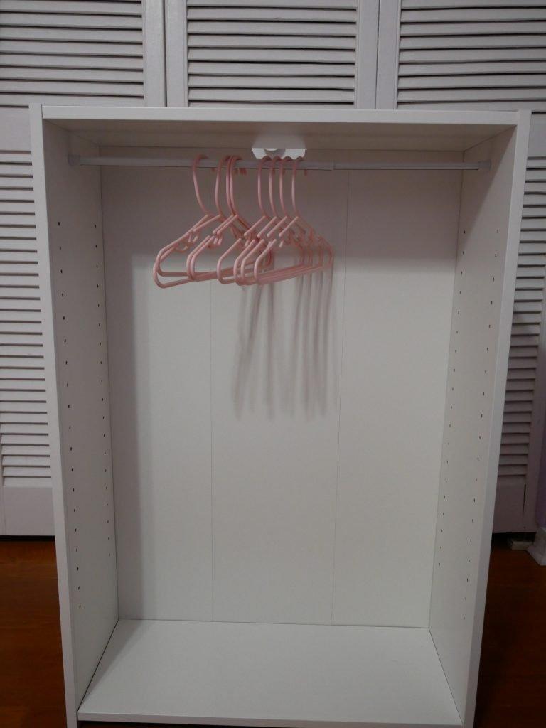 Simple DIY Dress Up Closet