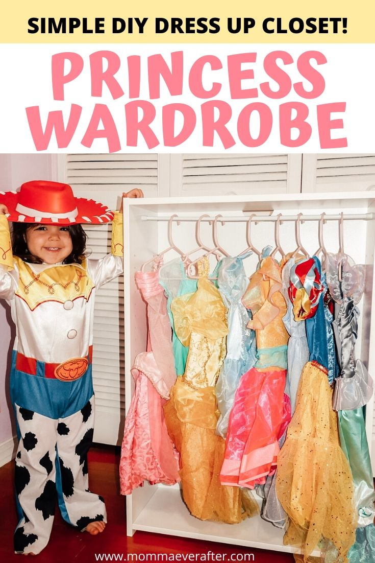 Simple DIY Dress Up Closet